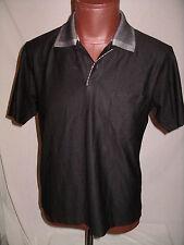 HUGO BOSS Black Short Sleeve  POLO Shirt - 52 - EUC
