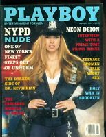Playboy Magazine, August, 1994, NYPD Nude, Neon Deion, Models of Milan!