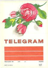 TELEGRAMME POLOGNE ROSES