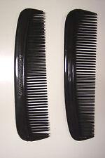 60 pcs MENS BLACK POCKET HAIR UNBREAKABLE HEAVY DUTY COMBS USA MADE BULK LOT