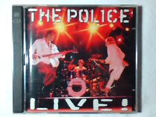 THE POLICE Live! 2cd STING ANDY SUMMERS STEWART COPELAND