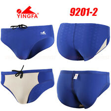 YINGFA 9201-2 MEN'S COMPETITION RACING TRAINING BRIEFS S BOYS 7-8 WAIST 20.5-23""