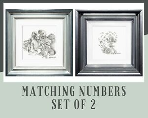 KERRY DARLINGTON - ALICE - PACK OF CARDS  CAUCUS RACE - MATCHING NUMBER SET OF 2