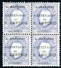 LORENZO MARQUES 1895 21 ungummiert TADELLOS per 4  Heiliger ANTONIUS(I2480