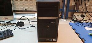 FUJITSU ESPRIMO P2550 E5300 2.60GHZ 4GB 320GB WIN10 WIRELESS DESKTOP TOWER PC