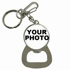 Beer Bottle Opener Key Chain Custom Personalized Picture Photo Logo