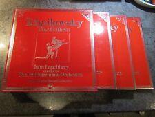 """TCHAIKOVSKY (8x12"""" Vinyl LP Box Set) X3 BALLETS HMV-SLS 5273 JOHN LANCHBERY NEW!"""