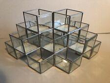 Original BAUHAUS Design Glas Objekt Ablage MID-CENTURY Vintage um 1900 Art Déco
