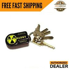 New NukAlertTM Nuclear Radiation Detector / Monitor (keychain Attachable) Alarm