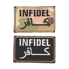 embroidery badge infidel camouflage embroideredmilitary tactical armband patch T