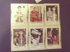 2017 Canada Post Canadian Hockey Legend Stamps FULL SET! 6X! FREE SHIPPING!