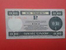 30. Poland - Bon towarowy Pekao 0,10$ - 1979