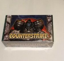 Battletech CounterStrike Limited Ed Booster Box Sealed NEW Rare (Cat's Shelter)