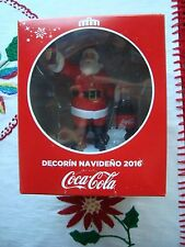 COCA COLA X-MAS christmas Santa Navidad Mexican edition 2016 brand new decorin