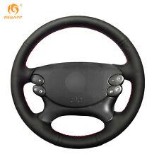 Leather Steering Wheel Cover for Benz E-Class E230 E280 E350 CLS G SL CLK #BA20