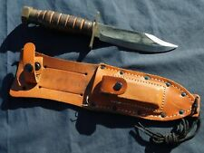 Vietnam War Us Pilot Survival Fighting Knife Camillus Army Usn Usmc Usaf 1973