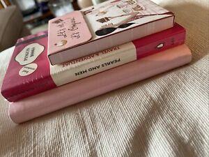Three Pink Notebooks - NEW