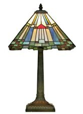"""Tiffany Style HandCrafted Glass Table /Desk/Bedside Lamp 10"""" ( CHRISTMAS GIFT )"""