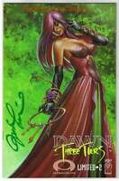 DAWN THREE TIERS #2, VF/NM, Signed & Limited, Joseph Linsner, COA,