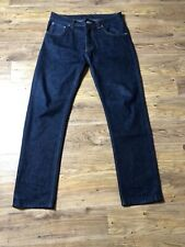 Blue Dry Heavy Big Bengt Jeans From Nudie Size W30 L30 See Description