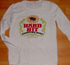 JUST CAVALLI Mens Shirt L/S Size Medium Color White 95% Cot 5% Elas.Made China
