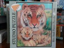 New Sealed Studio Puzzle Mother Tiger Bits and Pieces Jigsaw 500 pieces