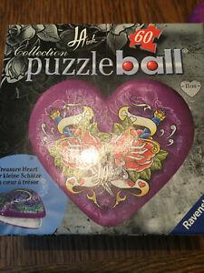 Ravensburger Puzzleball Tresor Schmuckkästchen Kinderpuzzle OVP