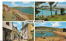 Dorset Postcard - Views of Lyme Regis      XX148