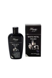 Hagerty White Metal Polish Cleaner For Steel, Chrome and Stainless Steel A116...