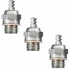 New O.S. #10 (A5) Glow Plug Cold Air (3 pcs) # 71605100 - OSMG2693