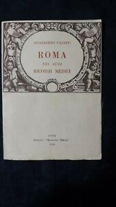 Pazzini: Roma nei suoi ricordi medici. 1949