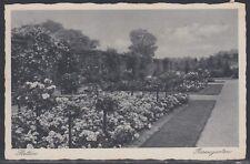 23370) STETTIN Pommern Rosengarten 1940 gelaufen nach Kiel