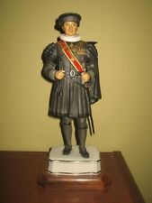 Royal Worcester porcelain soldier - THE PRIVATE CHAMBERLAIN OF THE SWORD & CAPE