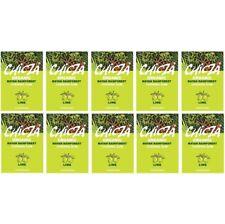Chicza Organic Chewing Gum - Lime - Full Box - 10 Packs