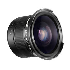 Neewer 58mm Grandangolo con Effetto Occhio Pesce 0,35X Porzione Macro per Canon