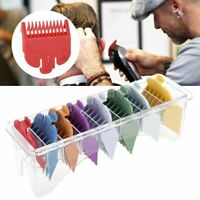 8 Sizes Barber Limit Comb Guide Tool Set For Electric Hair Cutting Clipper ML