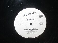 "Diana ""Sweet Sensation"" 12"" Single PROMO"