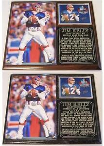 Jim Kelly Legendary Buffalo Bills Quarterback Photo Plaque Hall of Fame