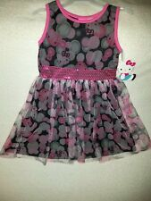 Hello Kitty Dress for Girls-Size S (6/6x)- NWT-So Adorable!