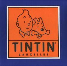 Autocollant Tintin Autocollant publicitaire Tintin Bruxelles