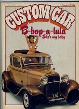 Custom Car magazine February 1976