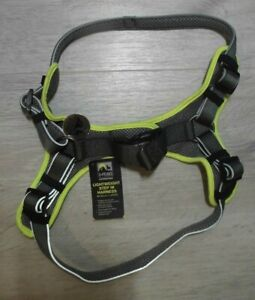 3 PEAKS LIGHTWEIGHT STEP IN HARNESS (YELLOW / GREY) LARGE 56 - 80 cm
