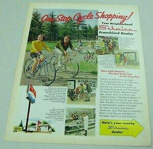 1969 Print Ad Schwinn Bicycles Sting Ray, 10 Speed Men's & Ladies Bikes