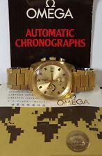 Scarce 176.007 Omega Seamaster Jedi Chronograph Automatic 1040 Cal Orig Papers