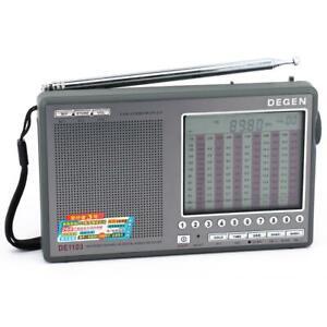 DEGEN DE1103 DSP FM MW LW SSB SHORTWAVE RADIO WORLD RECEIVER