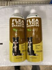 2 Nature's Best Dog Flea & Tick Shampoo Cleans & Conditions Each 16 fl oz