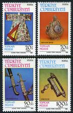 Turkey B201-B204, MI 2669-2672, MNH. Topkapi Museum Artifacts, 1984
