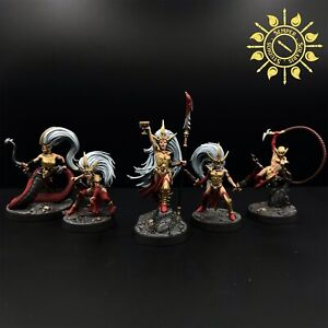 Warhammer Underworlds Beastgrave Morgwaeth's Blade-coven - Painted