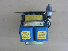 Warrick Controls Gems 1G1D0A 115/300V 1NC 2NO Control Relay w Reset, Used