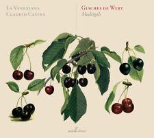 Giaches De Wert Madrigals La Venexiana Audio CD